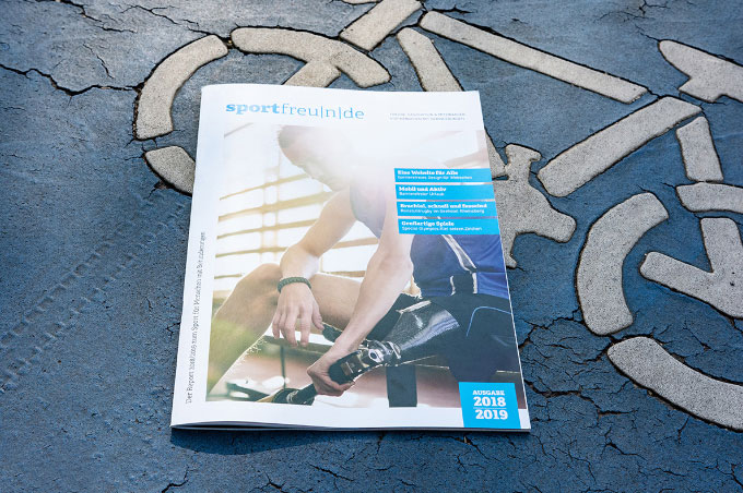 Cover des Sportfreunde Magazins