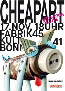 Cheapart Plakat