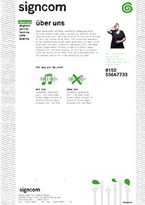 Signcom Website