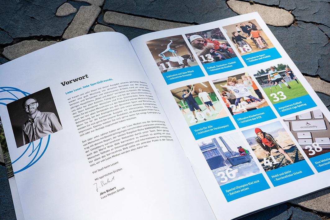Sportfreunde Inhaltsverzeichnis